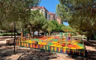 PROYECTO LLAVE EN MANO DE UN PARQUE INFANTIL INCLUSIVO EN HORTALEZA, MADRID.