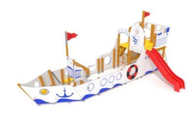 """Barco para parques infantiles """"Pesquero ibicenco"""""""
