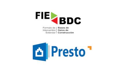 Catálogo Presto y FIEBDC BC3