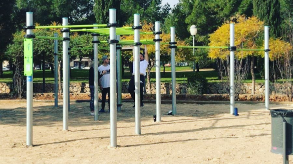 Calisthenics equipment in Marrachí, Balearic Islands