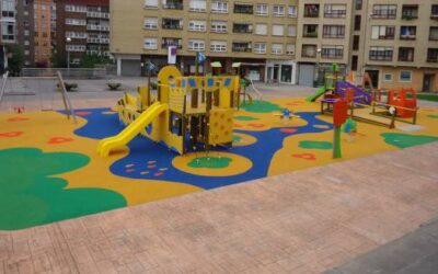 Instalación de un parque infantil inclusivo