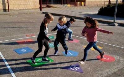 Descubre los Juegos pintados para el suelo