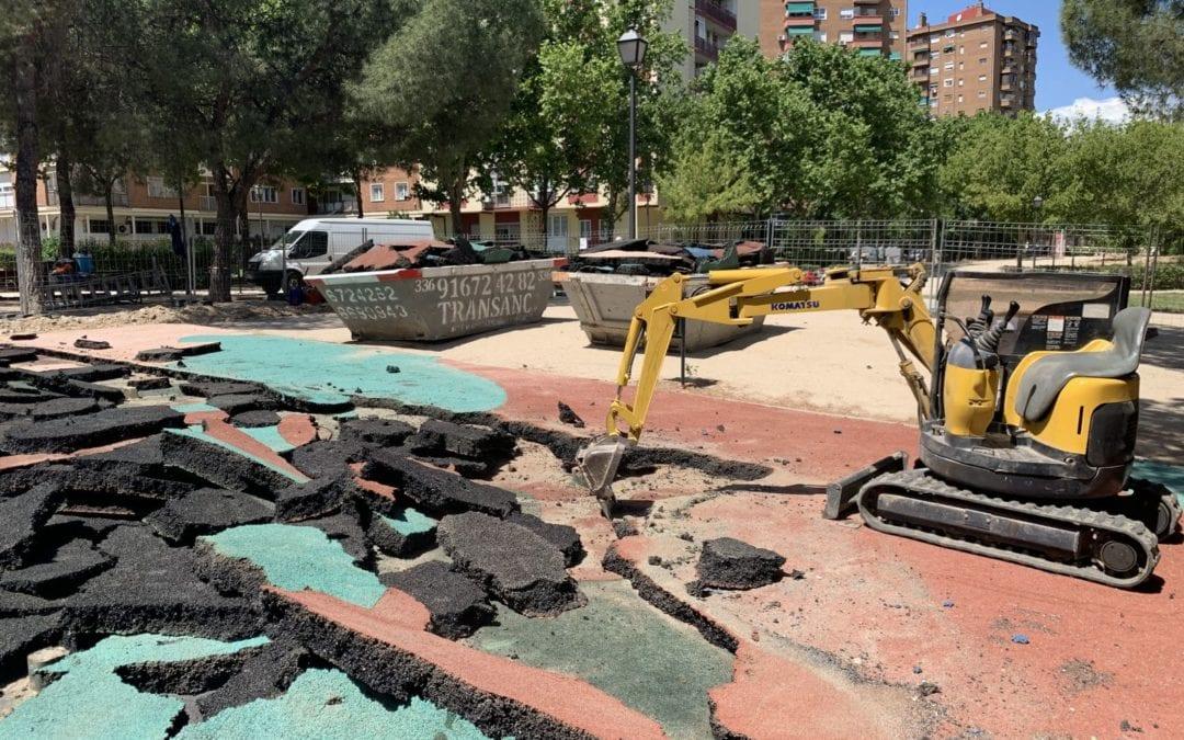 PROJET CLÉ EN MAIN D'UN PARC POUR ENFANTS INCLUSIF À HORTALEZA, MADRID.