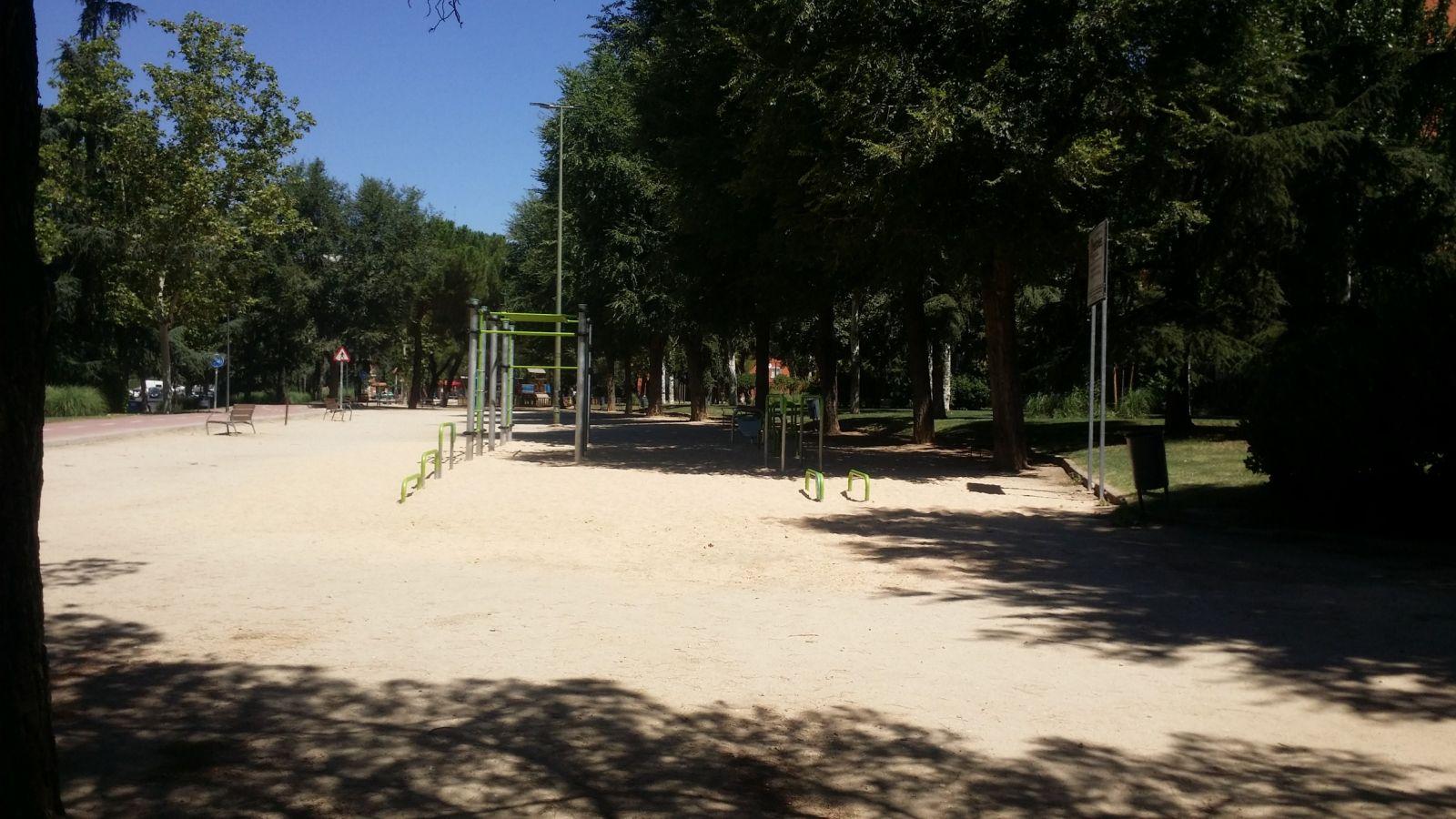 zona workout certificada ayuntamiento mostoles