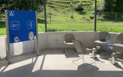 Parque de Mayores en el centro médico social Foyer Saint-Joseph, Suiza