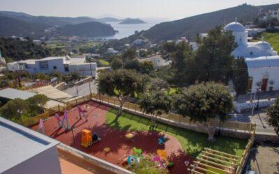 Parques infantiles en Grecia