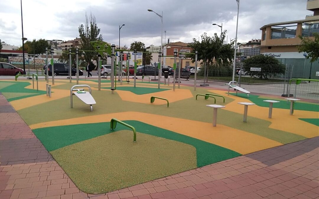 Calisthenics park installed in Albacete, Spain