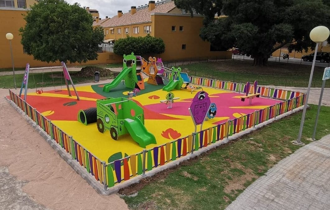 MONSTER-THEMED PLAYGROUND COMES TO BÉTERA