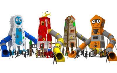 Nuevas torres gigantes temáticas